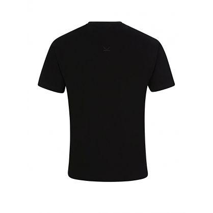 Black Paris Mesh T-Shirt
