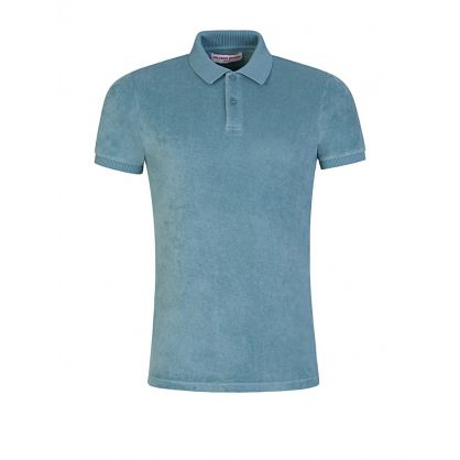 Green Jarrett Towelling Polo Shirt