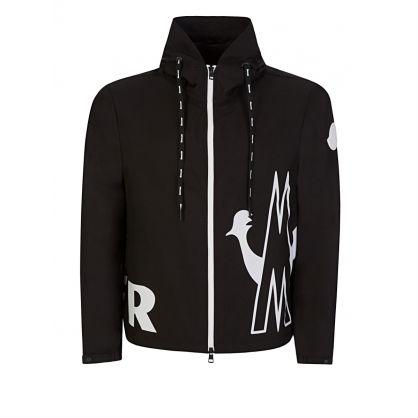Black Mythos Windbreaker Hooded Jacket