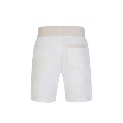 Cream Afador Beach Towelling Shorts