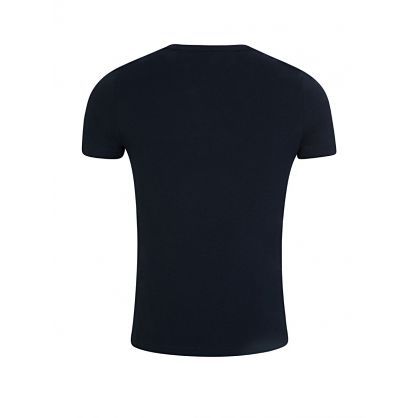 Navy Chest Logo T-Shirt