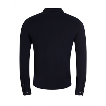 Navy Slim Fit Jersey Shirt