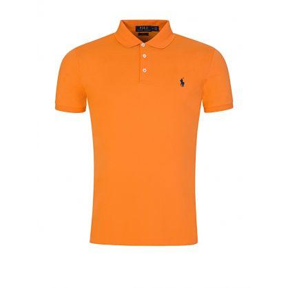 Orange Slim Fit Polo Shirt