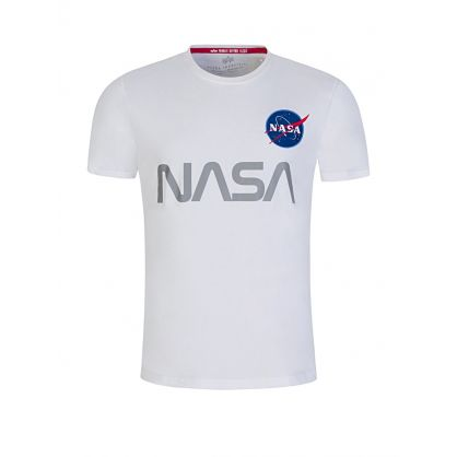 White NASA Reflective T-Shirt