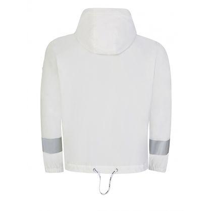 White Ardour Reflective  Hooded Jacket