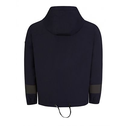 Black Ardour Reflective Hooded Jacket