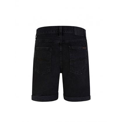 Black Denim Josh Shorts