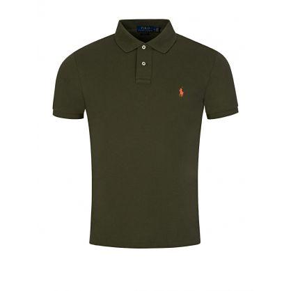 Green Slim Fit Polo Shirt