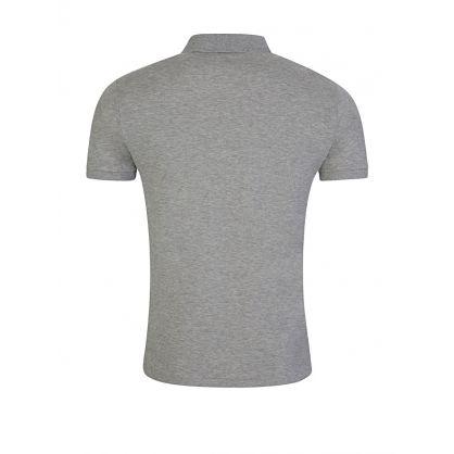 Grey Slim Fit Stretch Polo Shirt