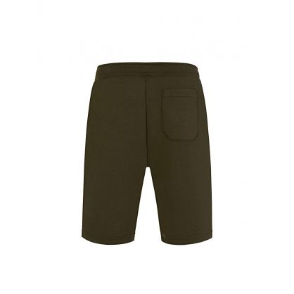 Olive Green Tech Shorts