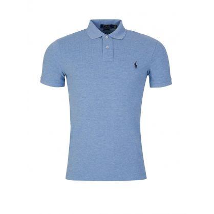 Sky Slim Fit Mesh Polo Shirt