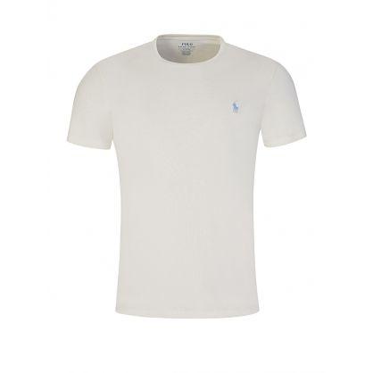 Cream Custom Slim Fit T-Shirt