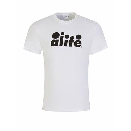 White Bubble Logo T-Shirt