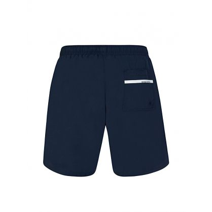 Navy Dolphin Logo Swim Shorts