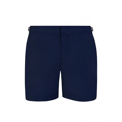 Navy Bulldog Swim Shorts