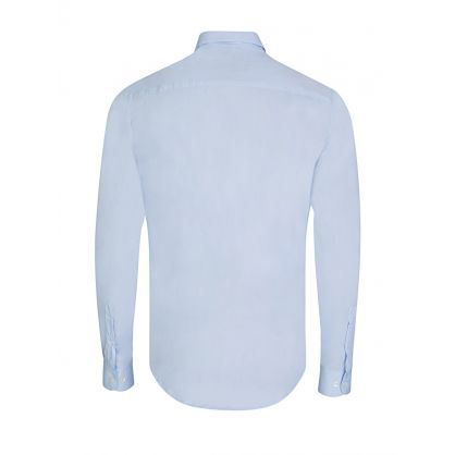 Sky Blue Poplin Shirt