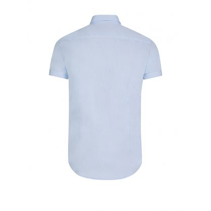 Sky Blue Short Sleeve Shirt