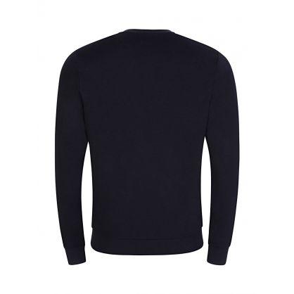 Navy Logo Tracksuit Sweatshirt