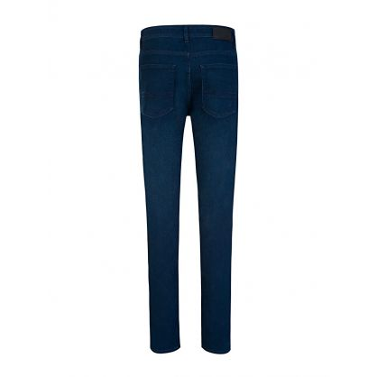 Navy Delaware Italian Stretch Slim Fit Jeans