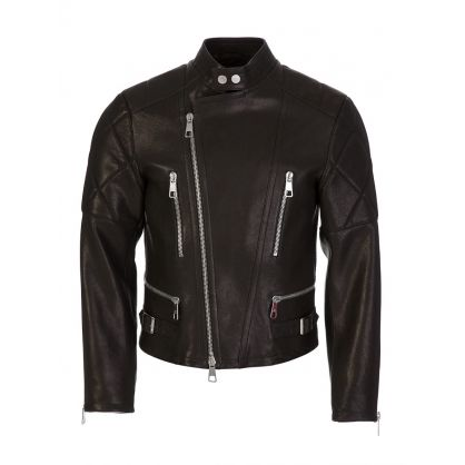 Black Leather Rider Jacket