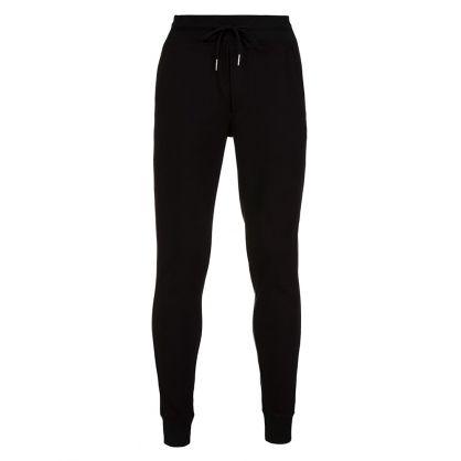Black Cuffed Sweatpants