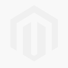 White Leather Zip High-Top Trainers