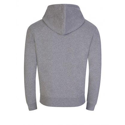 Grey Ami De Coeur Zipped Hoodie