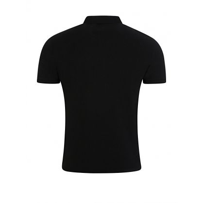 Black Custom Slim Fit Polo Shirt