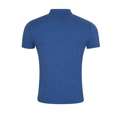 Blue Slim Fit Soft-Touch Polo Shirt