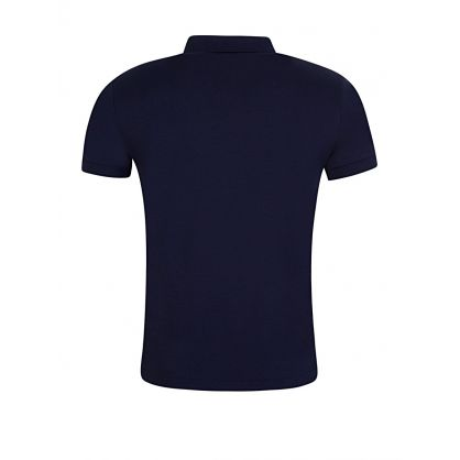Navy Slim Fit Soft-Touch Polo Shirt