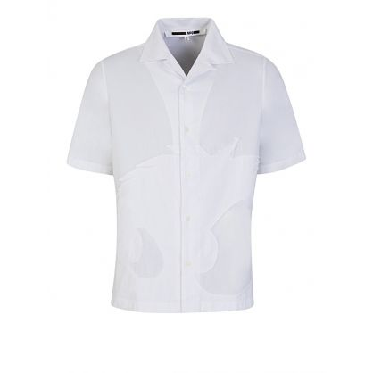 McQ by Alexander McQueen White Monster Shirt