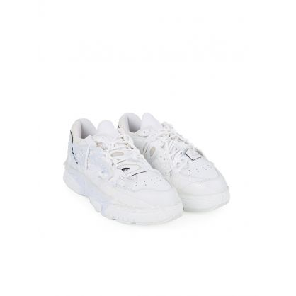 White Low-Top Fusion Trainers