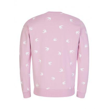 Pink Swallow Sweatshirt