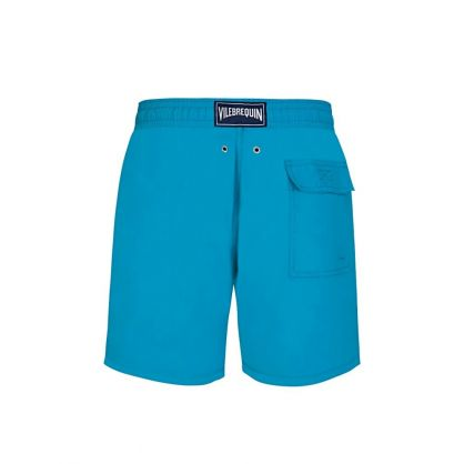 Turquoise Seychelles Water-Reactive Swim Shorts