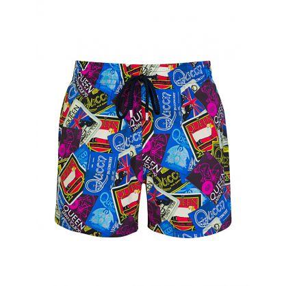Blue Queen Tour Swim Shorts