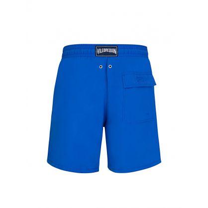 Blue Moorea Swim Shorts