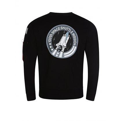 Black Space Shuttle Sweatshirt