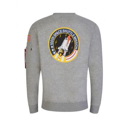 Grey NASA Space Shuttle Sweatshirt