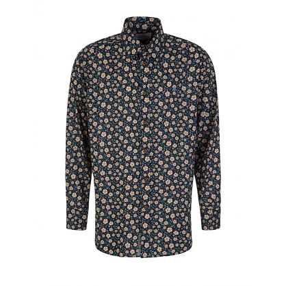 Black Krall Flowers Shirt