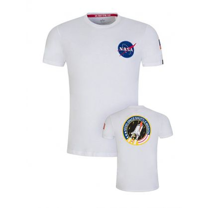 White Space Shuttle NASA T-Shirt