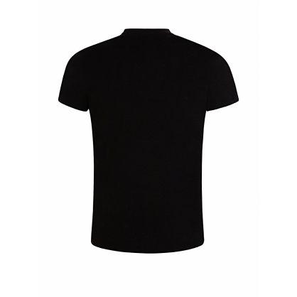 Black NASA Reflective Logo T-Shirt
