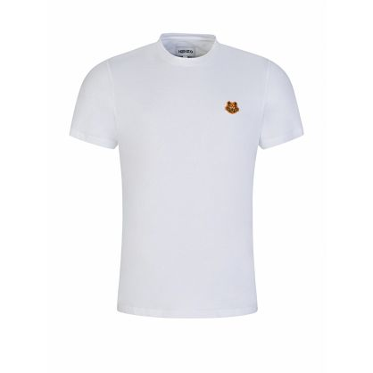 White Tiger Crest T-Shirt