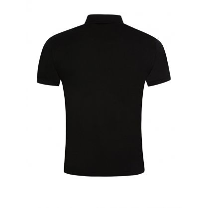 Black Slim Fit Soft-Touch Polo Shirt