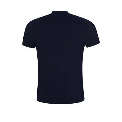 Navy Tiger Crest T-Shirt