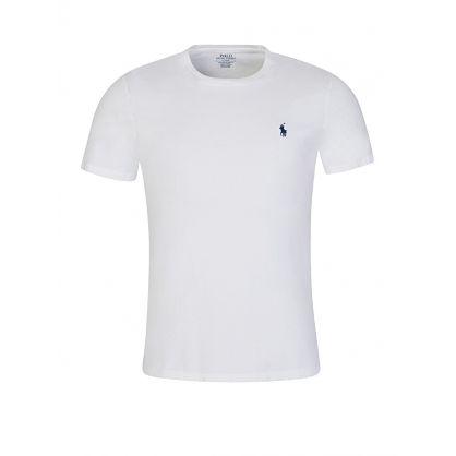 White Custom Slim Fit T-Shirt