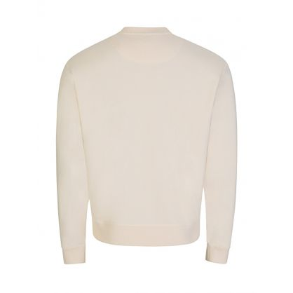 Cream Classic Eye Logo Sweatshirt