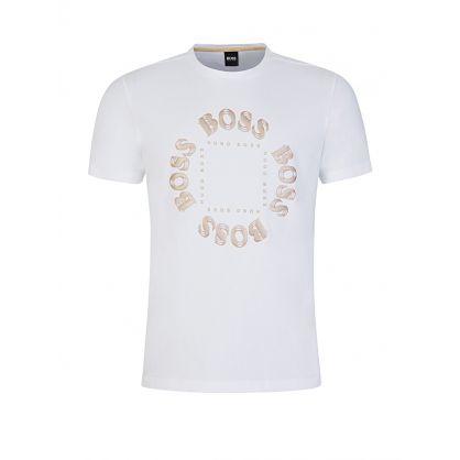White Circle Logo T-Shirt