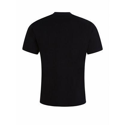 Black Varsity Tiger Logo T-Shirt