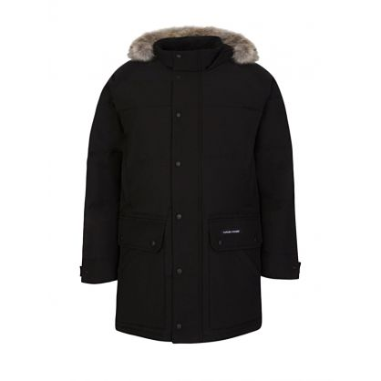 Black Emory Parka Coat