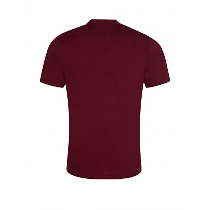 Burgundy Front Logo T-Shirt